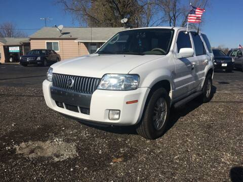 2005 Mercury Mariner for sale at US 30 Motors in Merrillville IN