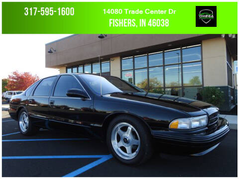 1996 Chevrolet Impala for sale at Omega Autosports of Fishers in Fishers IN