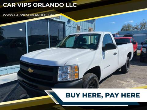 2012 Chevrolet Silverado 1500 for sale at CAR VIPS ORLANDO LLC in Orlando FL