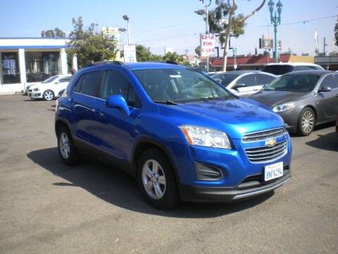2016 Chevrolet Trax for sale at AUTO SELLERS INC in San Diego CA