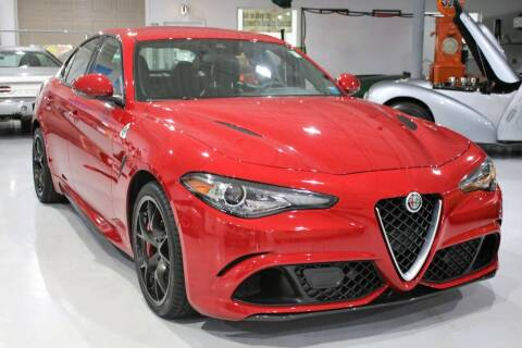 2018 Alfa Romeo Giulia Quadrifoglio for sale at Great Lakes Classic Cars & Detail Shop in Hilton NY