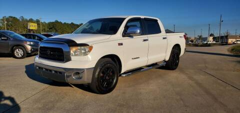 2009 Toyota Tundra for sale at WHOLESALE AUTO GROUP in Mobile AL