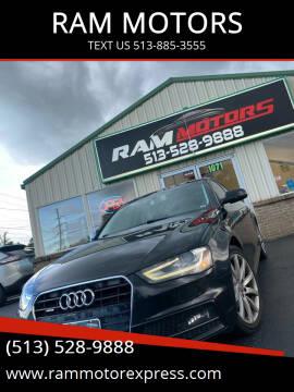 2014 Audi A4 for sale at RAM MOTORS in Cincinnati OH