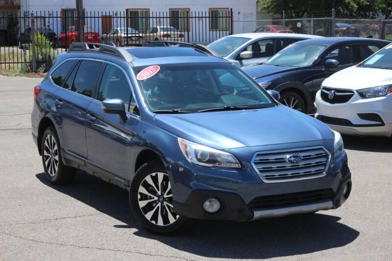 2017 Subaru Outback for sale at Car Bazaar INC in Salt Lake City UT