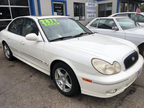2005 Hyundai Sonata for sale at Klein on Vine in Cincinnati OH