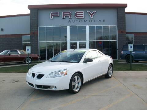 2008 Pontiac G6 for sale at Frey Automotive in Muskego WI