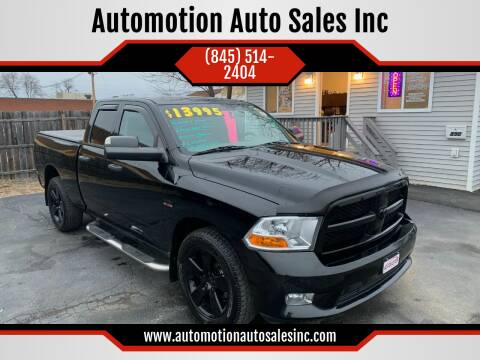 2012 RAM Ram Pickup 1500 for sale at Automotion Auto Sales Inc in Kingston NY