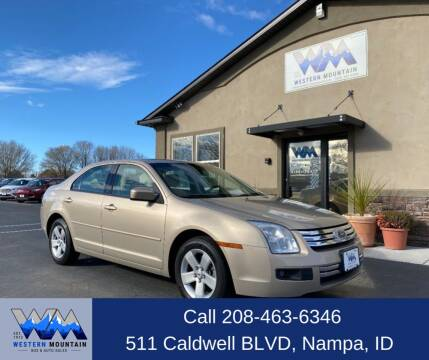 2007 Ford Fusion for sale at Western Mountain Bus & Auto Sales in Nampa ID