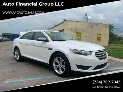 2015 Ford Taurus for sale at Auto Financial Group LLC in Flat Rock MI
