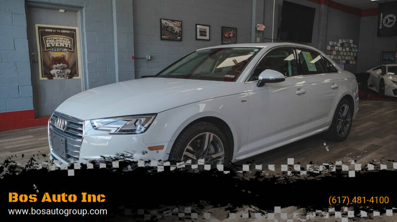 2018 Audi A4 for sale at Bos Auto Inc in Quincy MA