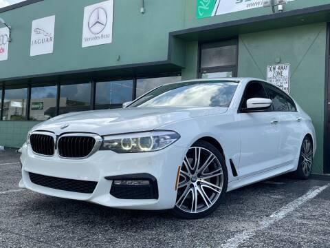 2018 BMW 5 Series for sale at KARZILLA MOTORS in Oakland Park FL