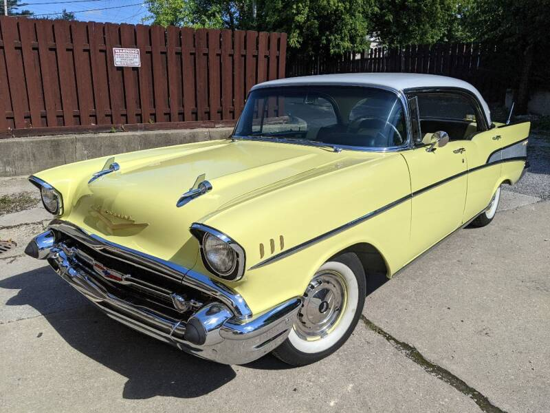 1957 Chevrolet Bel Air for sale at Richland Motors in Cleveland OH