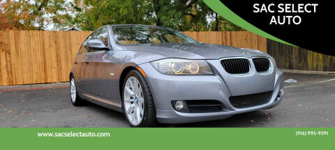 2009 BMW 3 Series for sale at SAC SELECT AUTO in Sacramento CA