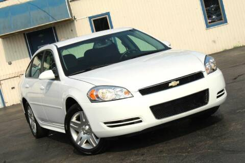 2012 Chevrolet Impala for sale at Dynamics Auto Sale in Highland IN