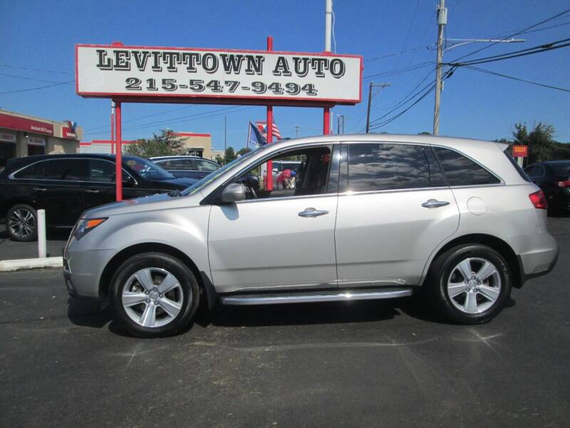 2010 Acura MDX for sale at Levittown Auto in Levittown PA