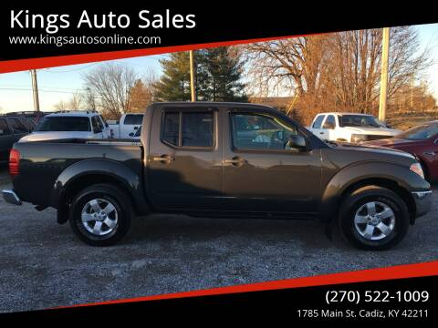 2010 Nissan Frontier for sale at Kings Auto Sales in Cadiz KY