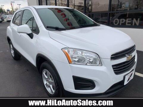 2016 Chevrolet Trax for sale at Hi-Lo Auto Sales in Frederick MD