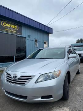 2007 Toyota Camry Hybrid for sale at CAR VIPS ORLANDO LLC in Orlando FL