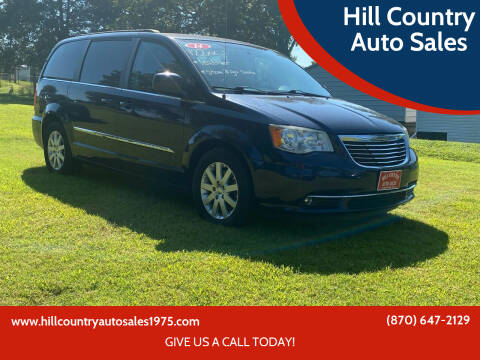 2014 Chrysler Town and Country for sale at Hill Country Auto Sales in Maynard AR