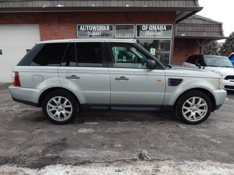 2008 Land Rover Range Rover Sport for sale at AUTOWORKS OF OMAHA INC in Omaha NE