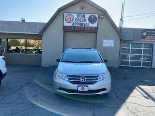 2013 Honda Odyssey for sale at Utah Credit Approval Auto Sales in Murray UT