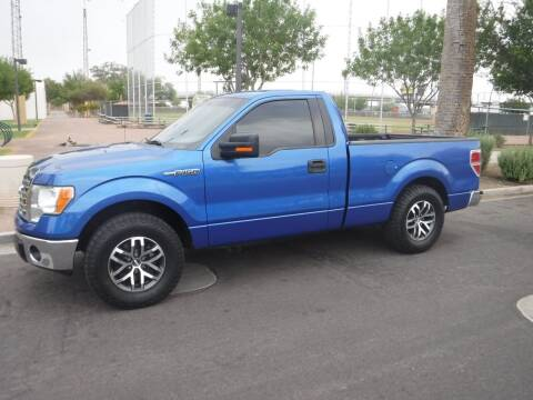 2013 Ford F-150 for sale at J & E Auto Sales in Phoenix AZ