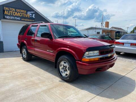 2004 Chevrolet Blazer for sale at Dalton George Automotive in Marietta OH