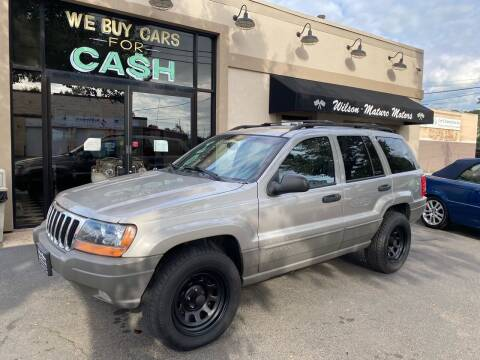 2001 Jeep Grand Cherokee for sale at Wilson-Maturo Motors in New Haven CT