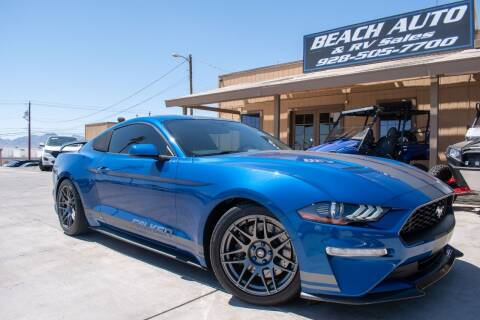 2018 Ford Mustang for sale at Beach Auto and RV Sales in Lake Havasu City AZ