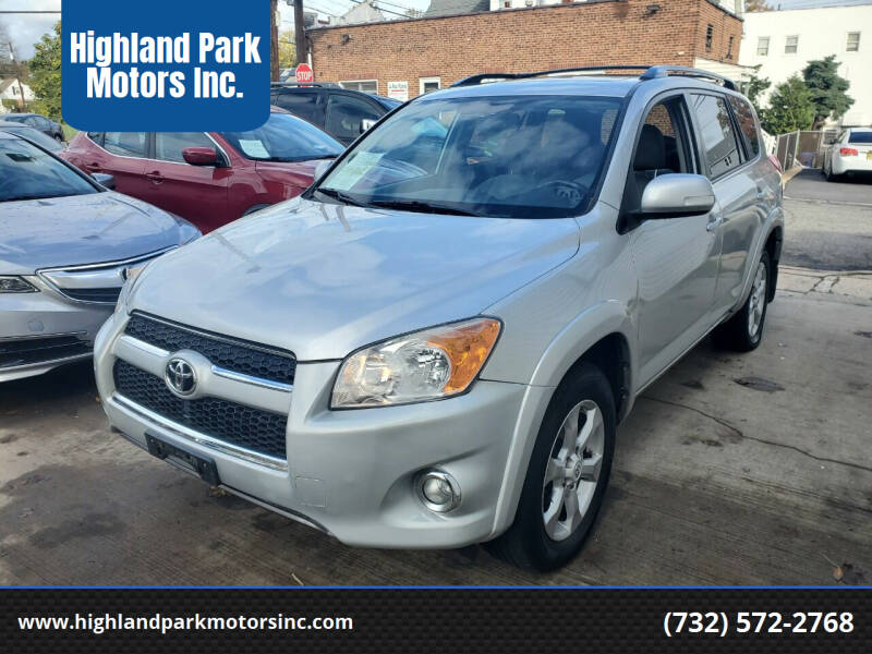 2010 Toyota RAV4 for sale at Highland Park Motors Inc. in Highland Park NJ
