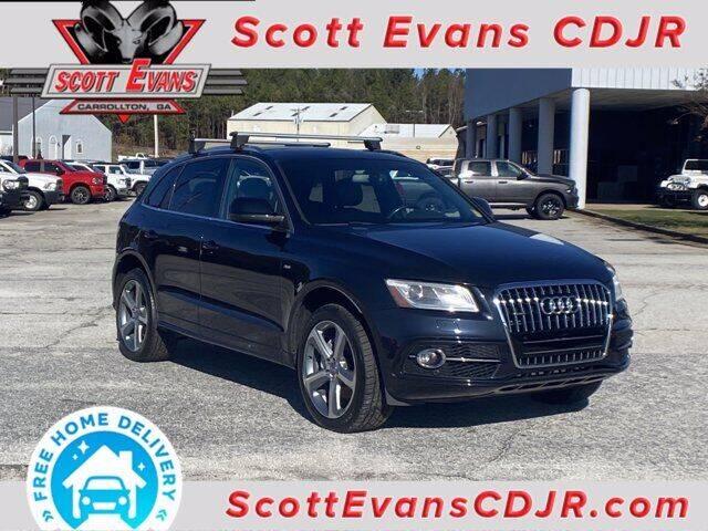 2014 Audi Q5 for sale at SCOTT EVANS CHRYSLER DODGE in Carrollton GA