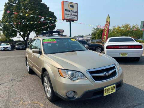 2008 Subaru Outback for sale at TDI AUTO SALES in Boise ID