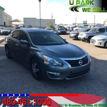 2015 Nissan Altima for sale at UPARK WE SELL AZ in Mesa AZ