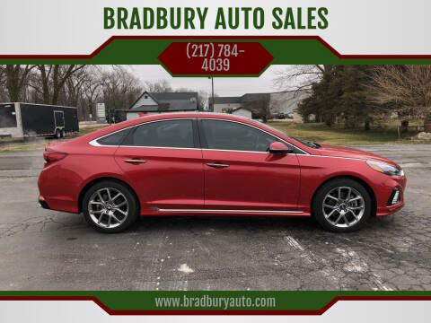 2018 Hyundai Sonata for sale at BRADBURY AUTO SALES in Gibson City IL