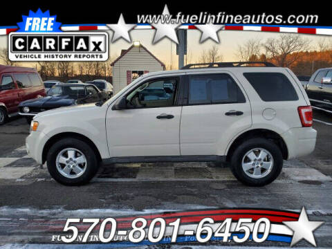 2011 Ford Escape for sale at FUELIN FINE AUTO SALES INC in Saylorsburg PA
