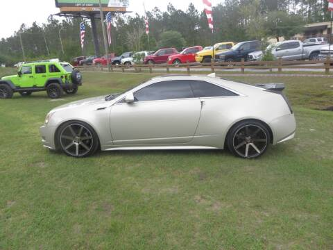2014 Cadillac CTS for sale at Ward's Motorsports in Pensacola FL