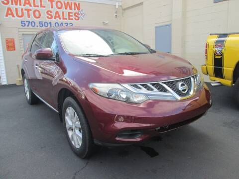 2011 Nissan Murano for sale at Small Town Auto Sales in Hazleton PA