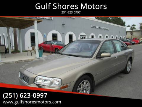 2005 Volvo S80 for sale at Gulf Shores Motors in Gulf Shores AL