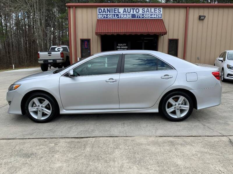 2012 Toyota Camry for sale at Daniel Used Auto Sales in Dallas GA