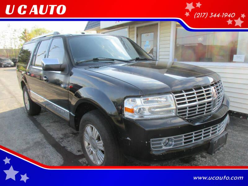 2011 Lincoln Navigator L for sale at U C AUTO in Urbana IL
