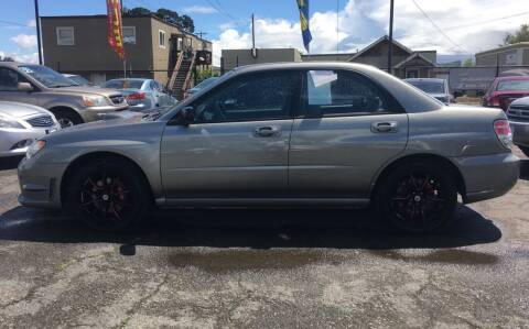 2006 Subaru Impreza for sale at Universal Auto INC in Salem OR