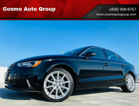 2015 Audi A3 for sale at Cosmo Auto Group in San Jose CA