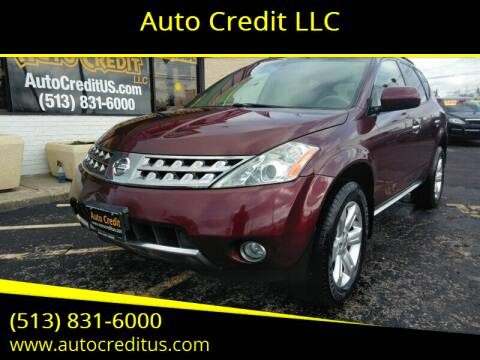 2006 Nissan Murano for sale at Auto Credit LLC in Milford OH