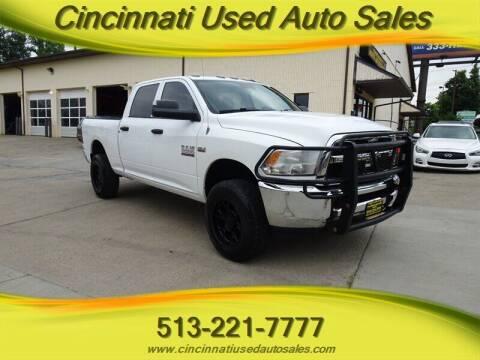 2013 RAM Ram Pickup 2500 for sale at Cincinnati Used Auto Sales in Cincinnati OH