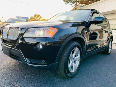 2012 BMW X3 for sale at North Georgia Auto Brokers in Snellville GA