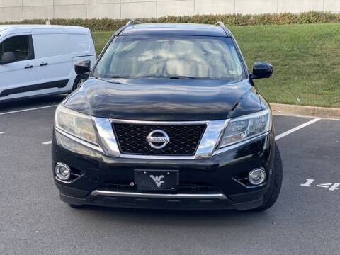 2014 Nissan Pathfinder for sale at SEIZED LUXURY VEHICLES LLC in Sterling VA
