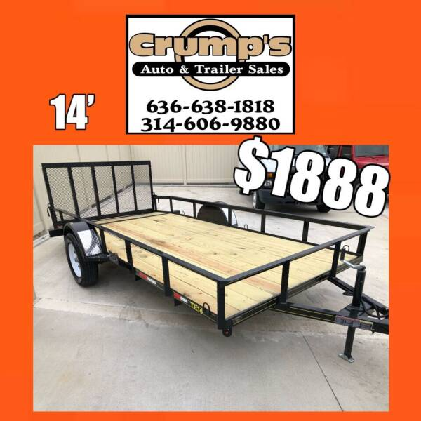 Trailer Express 14' Utility Trailer for sale at CRUMP'S AUTO & TRAILER SALES in Crystal City MO