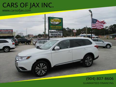 2019 Mitsubishi Outlander for sale at CARS OF JAX INC. in Jacksonville FL
