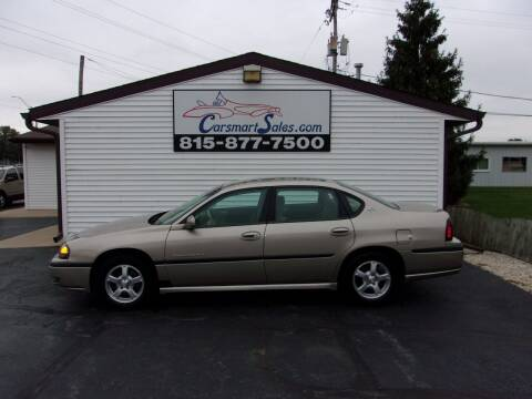 2003 Chevrolet Impala for sale at CARSMART SALES INC in Loves Park IL