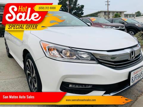 2016 Honda Accord for sale at San Mateo Auto Sales in San Mateo CA